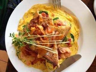 Vargabar omlette